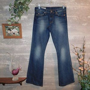 Red Engine Boot Cut Jeans Size 26